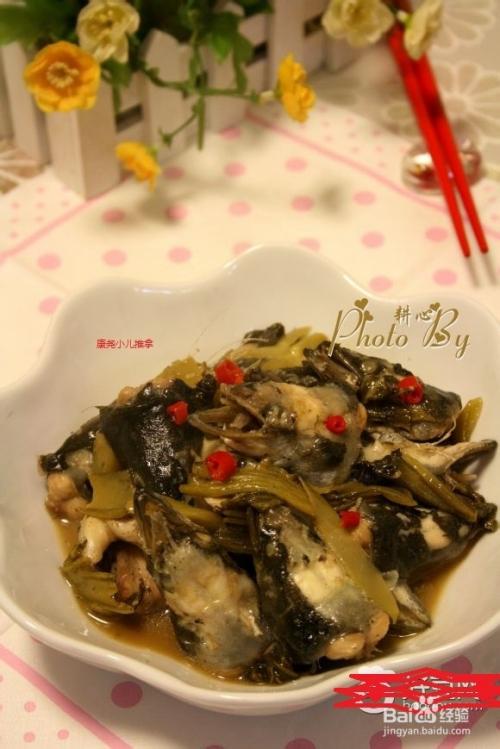 小儿潮汕咸菜-焖鳗鱼头图片