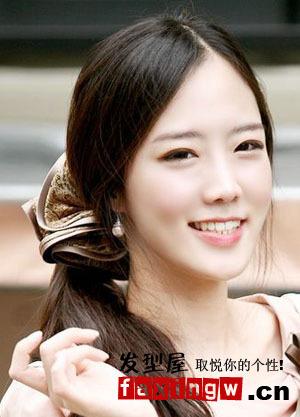 7款简洁清爽的无刘海发型图片图片