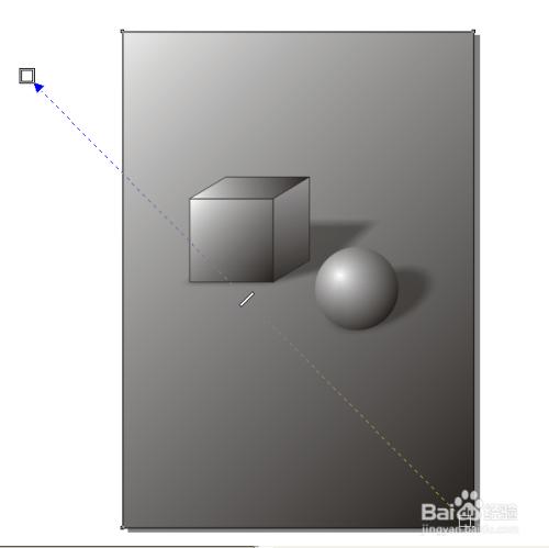 如何用coreldraw软件画几何静物素描立体图形图片