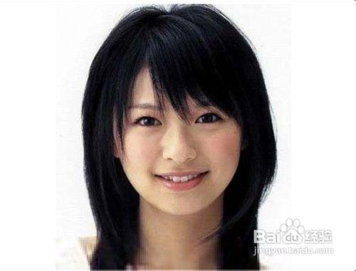 小圆脸女生适合发型图片