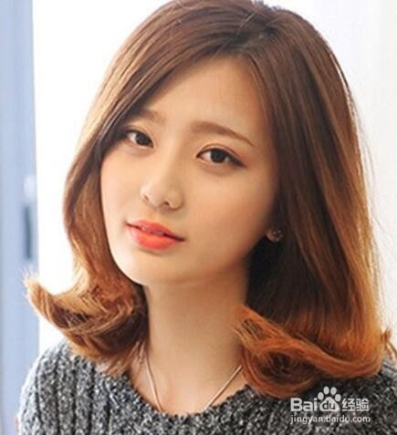 7款韩系发型中长发,时尚百搭让你美上加美图片