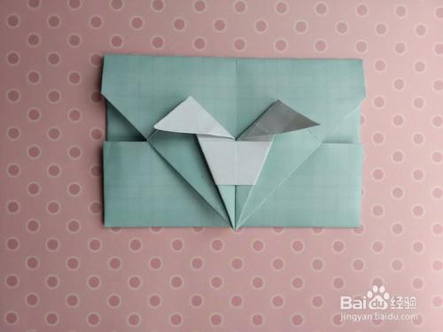 兔子信封的折法图片