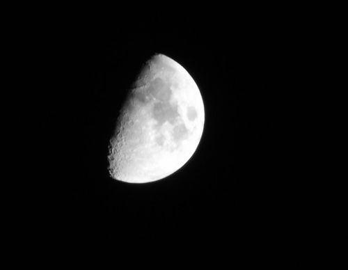 怎样用长焦相机拍月亮图片