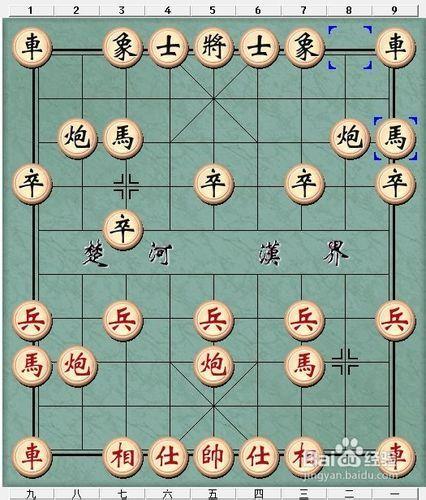 象棋直车的两种用法图片