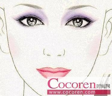 蓝色眼影的画法步骤�_6款眼影的色彩搭配方法