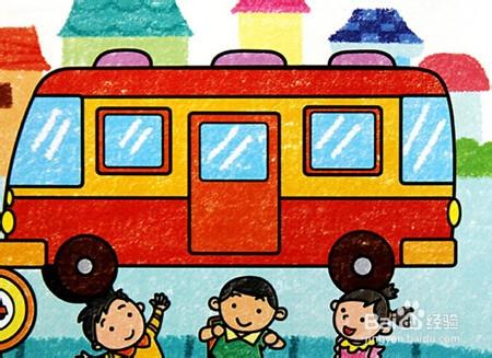 小学生怎样安全乘坐公交车?图片