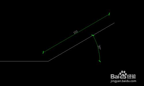 CAD打开方位角cad确定版有图两图片