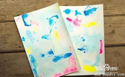 创意手工diy加盟制作漂亮的涂鸦风筝教程图解图片