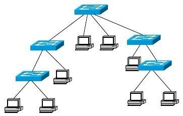 学考试题:如何区分网络拓扑结构