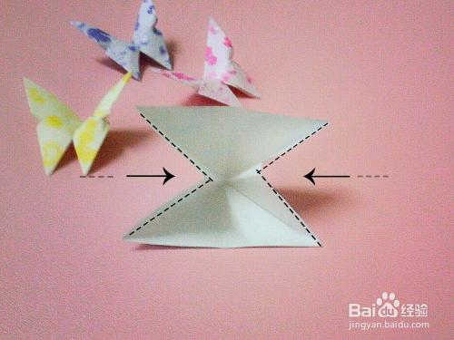 创意手工折纸——蝴蝶图片