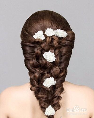 韩式新娘发型扎法步骤图片