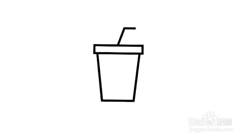 coco珍珠奶茶简笔画-百度经验图片