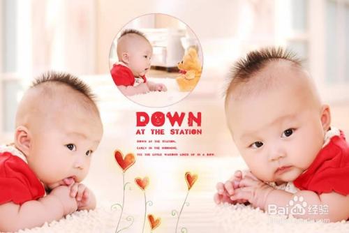 在家如何给宝宝拍百天照图片