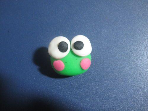 橡皮泥diy手工制作:青蛙圖片