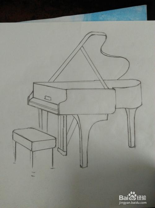 钢琴怎么画简笔画图片