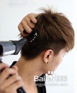 用发型打造潮男发蜡发型师潮最图片