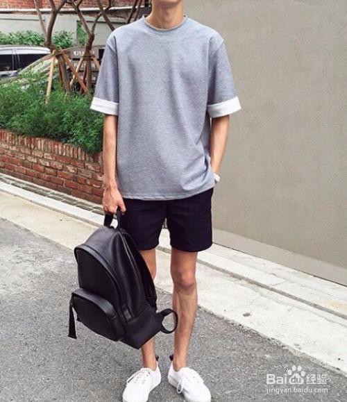 夏天男生搭配衣服