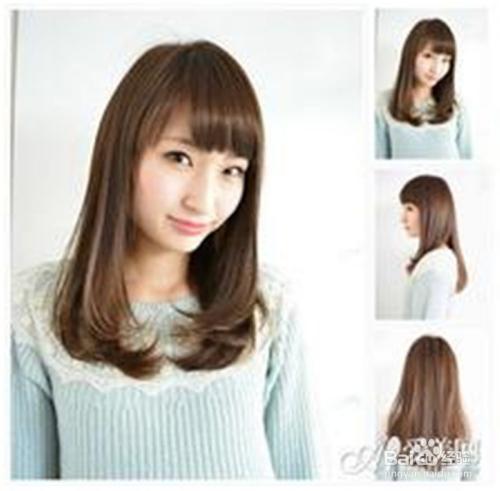 各种脸型适合的小脸发型图片