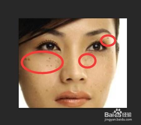 ps清楚斑点笔试的表面,ps建筑照片修复设计院的脸部资料图片