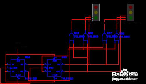数电交通灯控制电路_游戏/数码 > 电脑  4 信号灯译码电路:信号灯译码电路的主要任务就是