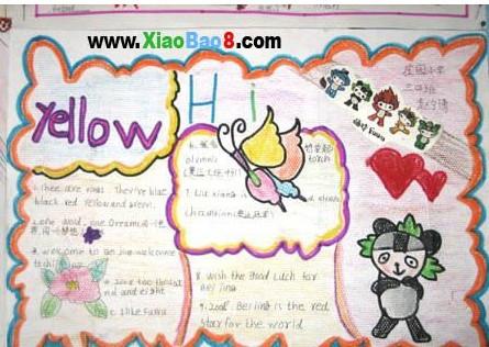 1 第一阶段:了解知识,确定主题     一,手抄报的版面设计