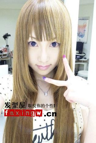 日本gal女孩最具有杀伤力非主流发型图片图片