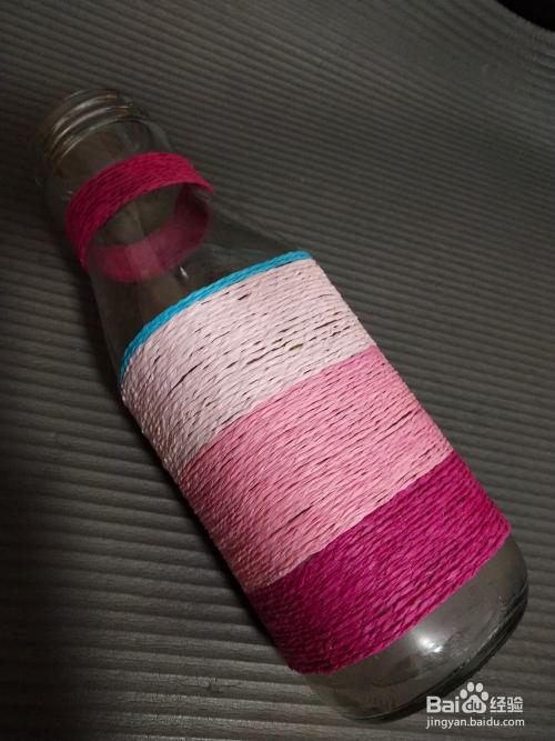 选出用的绳子颜色,按顺序放好.