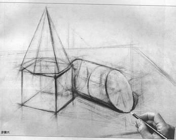 怎样画结构素描图片
