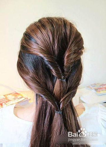 韩式淑女发型编发步骤图解塑造迷人气息图片