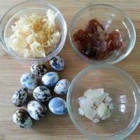 秋季补脑益智砂锅(糖水蛋价格银耳羹)武汉夏氏菜品鹌鹑桂圆图片