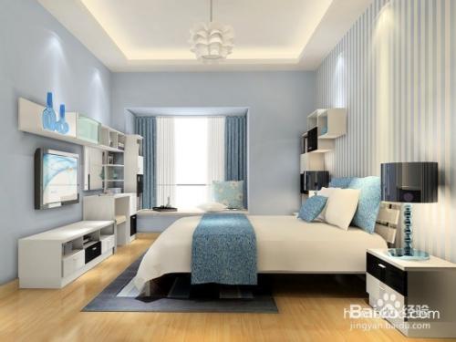 时尚简约风格卧室壁纸有哪些?