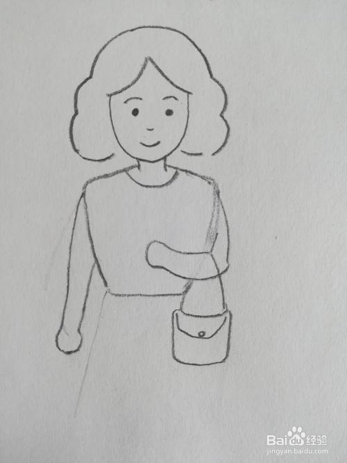 妈妈简笔画_妇女节妈妈简笔画儿童画卡通怎么画