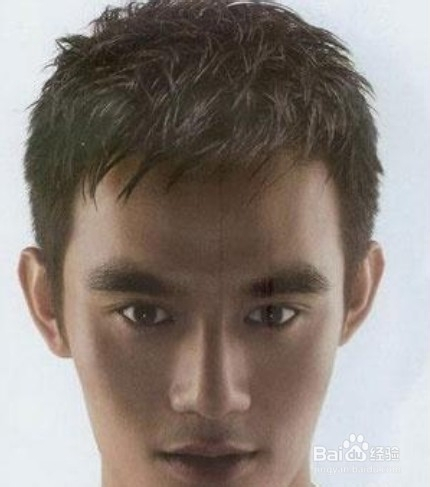 男生烫发发型怎么设计图片