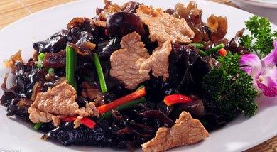 木耳餐平菇炒肉的做法哪里有工厂化v木耳鲜宝宝的图片