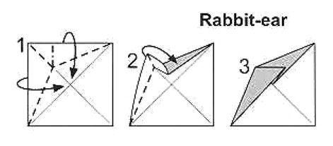 大胆折腹d#z*_12 内段折:以一个点为基准,把纸层以z字型向内收.