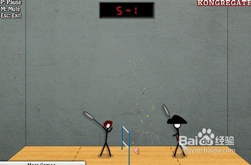 火柴人打羽毛球2-游戏攻略