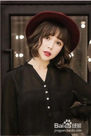 韩式波波头短发发型图片