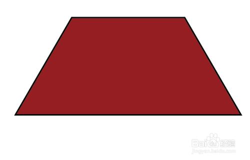 ai画基本图形之等腰梯形和直角梯形图片