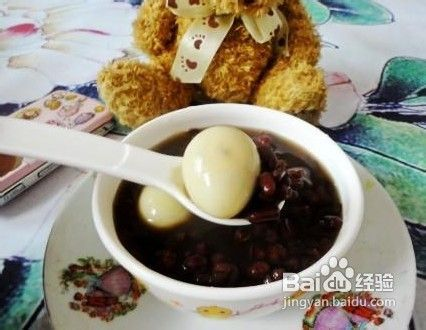 教你煮薏米赤小豆草鱼蛋糖水鹌鹑做法的视频松鼠图片