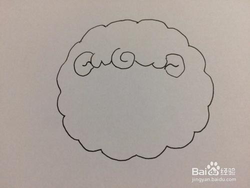 简笔画白羊座的画法AB血型摩羯座属狗男图片