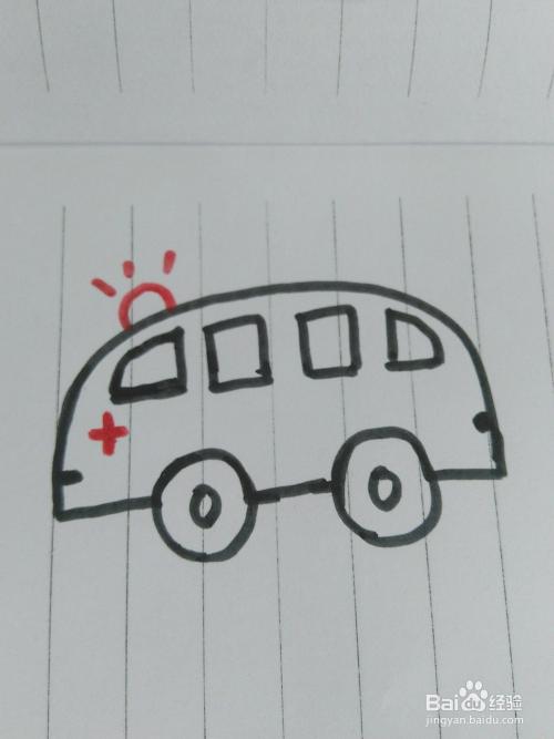 简笔画各种车的画法图片