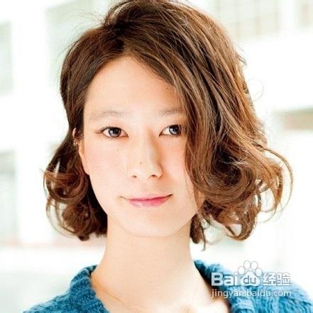 适合大脸的短发发型图片
