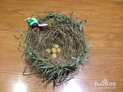 幼儿园手工制作鸟窝