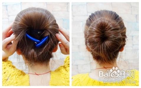 花苞头 韩式盘发3款清凉发型美爆夏季图片