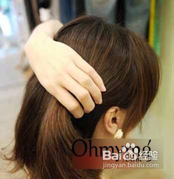 中短发怎么扎好看 名媛风中短发发型扎法图解图片