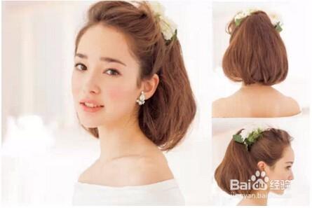 时尚/美容 > 美发  1 棕色中短发空气感十足,及肩卷发修饰出完美的图片