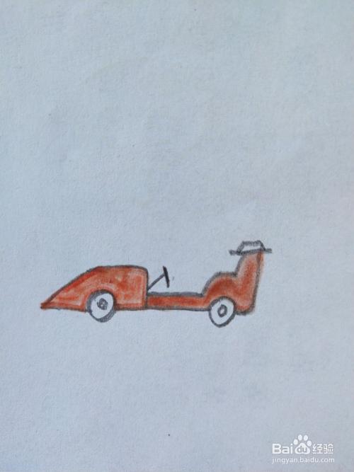 手工/爱好 > 书画/音乐  1 如图,首先画出赛车的两个车轮.图片