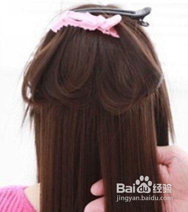 怎样使用卷发棒打造发型图片