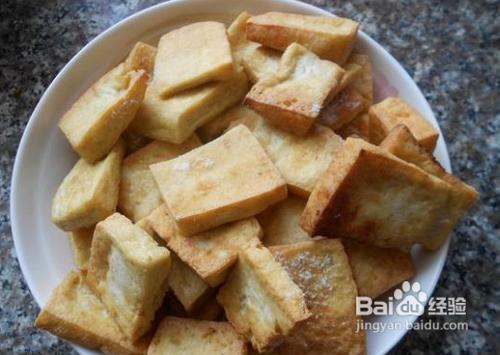 油炸豆腐的家常做法_油炸豆腐做法
