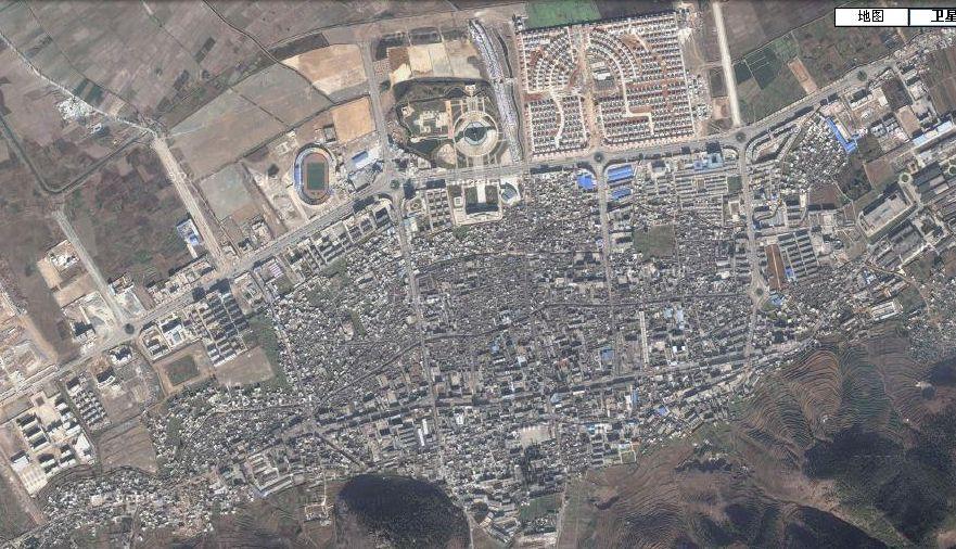 会泽县城人口_会泽县城的卫星实拍照片_会泽吧_百度贴吧